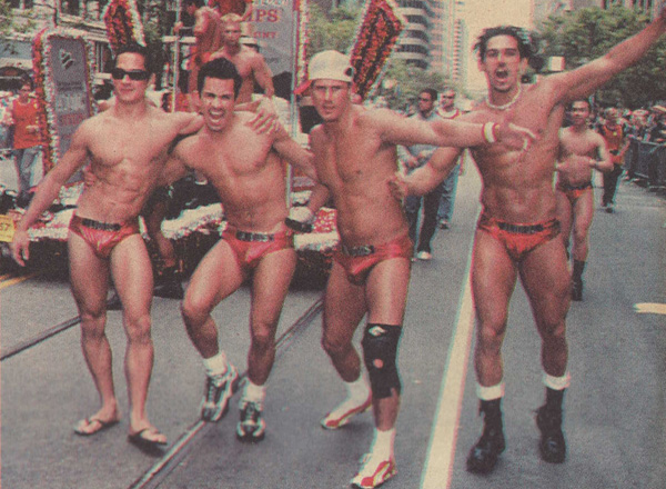 ALTOIDS Guys - Pride 2003 (Photo from Bay Area Reporter)